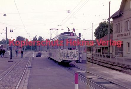 Stuttgart Straßenbahn - BDEF e.V. Tagung in Stuttgart - Party Wagen Nr. 999 - Bild 2