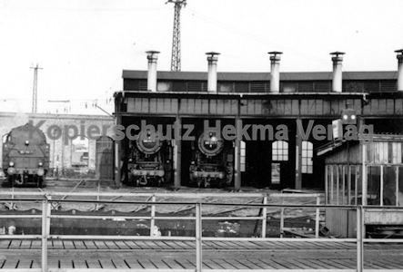Darmstadt Eisenbahn - Bahnbetriebswerk - Lokschuppen