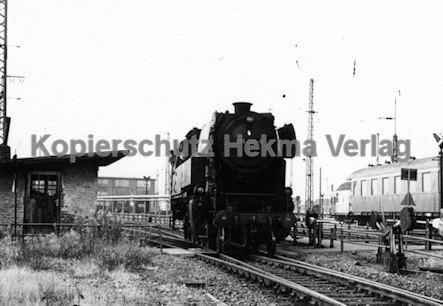 Darmstadt Eisenbahn - Bahnbetriebswerk - Lok 065 008-5