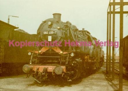 Emden Eisenbahn - Bahnbetriebswerk - Lok 082 036-7