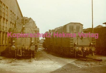 Emden Eisenbahn - Bahnbetriebswerk - Lok 042 105-7