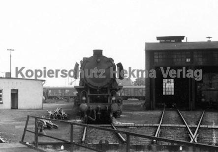 Emden Eisenbahn - Bahnbetriebswerk - Lok 043 574-3