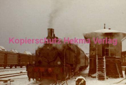 Fulda Eisenbahn - Bahnhof Lauterbach - Sonderzug - Lok 98 812 - Bild 1