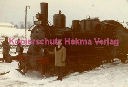 Fulda Eisenbahn - Bahnhof Lauterbach - Sonderzug - Lok 98 812 - Bild 3