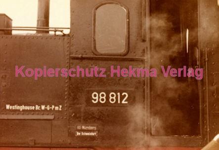 Fulda Eisenbahn - Bahnhof Lauterbach - Sonderzug - Lok 98 812 - Bild 4