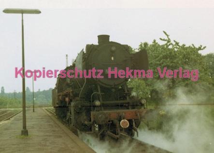 Godramstein/Pfalz Eisenbahn - Bahnhof Godramstein - Lok 50 1346 - Bild 2