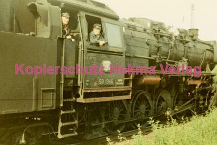 Godramstein/Pfalz Eisenbahn - Bahnhof Godramstein - Lok 50 1346 - Bild 3