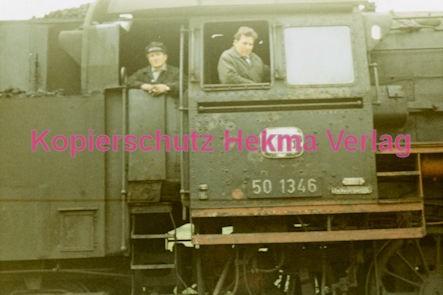 Godramstein/Pfalz Eisenbahn - Bahnhof Godramstein - Lok 50 1346 - Bild 7