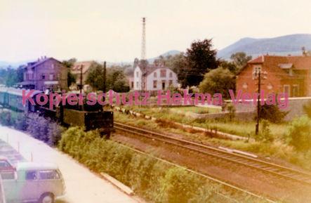 Godramstein/Pfalz Eisenbahn - Bahnhof Godramstein - Lok 50 1346 - Bild 4
