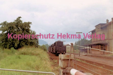 Godramstein/Pfalz Eisenbahn - Bahnhof Godramstein - Lok 50 1346 - Bild 5