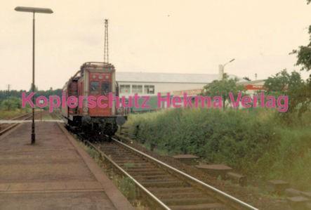 Godramstein/Pfalz Eisenbahn - Bahnhof Godramstein - Tunneluntersuchungswagen Nr. 711 001-8 - Bild 1