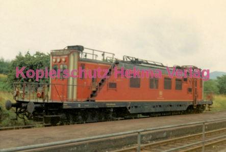 Godramstein/Pfalz Eisenbahn - Bahnhof Godramstein - Tunneluntersuchungswagen Nr. 711 001-8 - Bild 2
