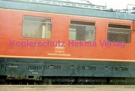 Godramstein/Pfalz Eisenbahn - Bahnhof Godramstein - Tunneluntersuchungswagen Nr. 711 001-8 - Bild 3