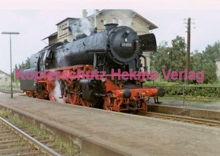 Godramstein/Pfalz Eisenbahn - Bahnhof Godramstein - Lok 23 059 - Bild 2