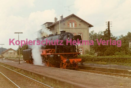 Godramstein/Pfalz Eisenbahn - Bahnhof Godramstein - Lok 23 059 - Bild 4