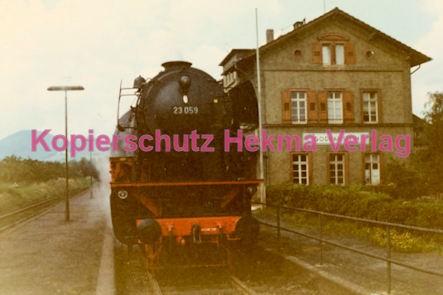 Godramstein/Pfalz Eisenbahn - Bahnhof Godramstein - Lok 23 059 - Bild 5