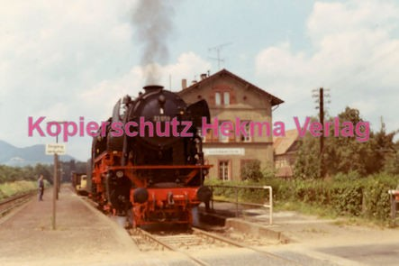 Godramstein/Pfalz Eisenbahn - Bahnhof Godramstein - Lok 23 059 - Bild 6
