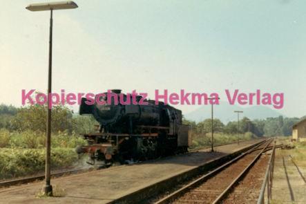Godramstein/Pfalz Eisenbahn - Bahnhof Godramstein - Lok 23 028