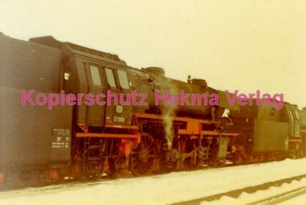 Godramstein/Pfalz Eisenbahn - Bahnhof - Lok 23 055, Lok 044 374-7 und Lok 23 068 - Bild 3