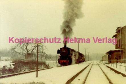 Godramstein/Pfalz Eisenbahn - Bahnhof - Lok 23 055, Lok 044 374-7 und Lok 23 068 - Bild 5