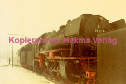 Godramstein/Pfalz Eisenbahn - Bahnhof - Lok 23 055, Lok 044 374-7 und Lok 23 068 - Bild 7