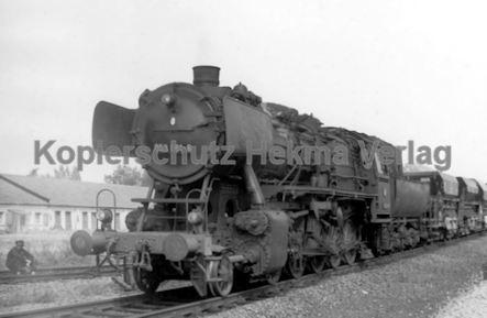 Godramstein/Pfalz Eisenbahn - Bahnhof - Lok 053 061-8 - Bild 2