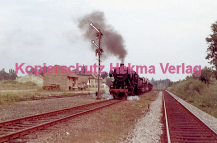 Godramstein/Pfalz Eisenbahn - Bahnhof - Lok 053 061-8 - Bild 3