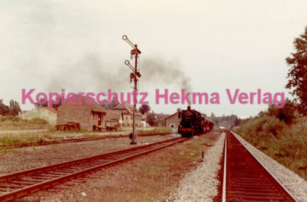 Godramstein/Pfalz Eisenbahn - Bahnhof - Lok 053 061-8 - Bild 5