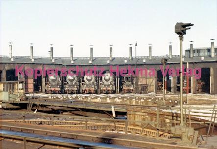 Hamburg Eisenbahn - Bahnbetriebswerk Altona - Lokschuppen - Bild 3