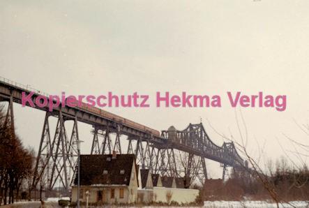 Hamburg Eisenbahn - Nord/Ostseekanal - Eisenbahnbrücke bei Rendsburg - Bild 1
