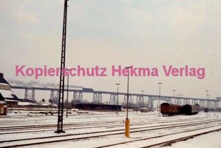 Hamburg Eisenbahn - Nord/Ostseekanal - Eisenbahnbrücke bei Rendsburg - Bild 2