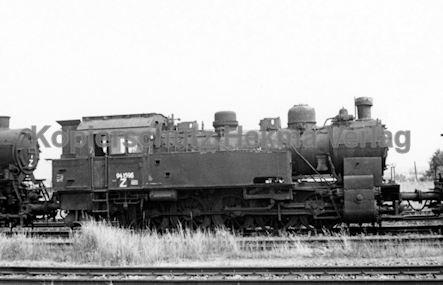 Hamburg Eisenbahn - Hamburg Moorfleth - Lok 94 1596