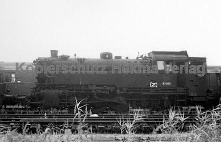 Hamburg Eisenbahn - Hamburg Moorfleth - Lok 82 003