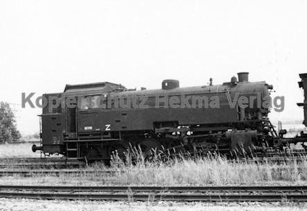 Hamburg Eisenbahn - Hamburg Moorfleth - Lok 82 010
