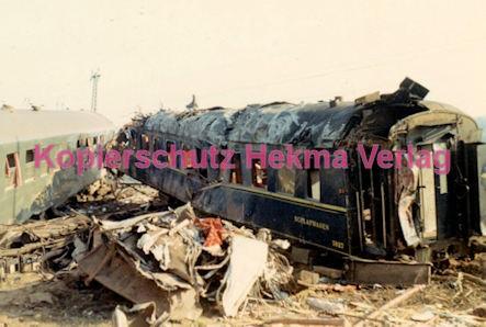 Hauptstuhl Eisenbahn - Zugunglück durch Sabotage - Schlafwagen