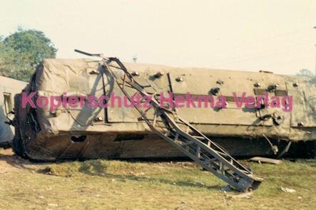 Hauptstuhl Eisenbahn - Zugunglück durch Sabotage - E-Lok 141 336-8 - Bild 3