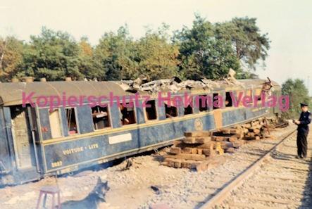 Hauptstuhl Eisenbahn - Zugunglück durch Sabotage - VOITURE - LITS