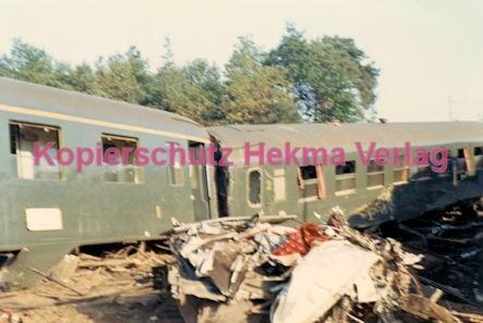 Hauptstuhl Eisenbahn - Zugunglück durch Sabotage - Französischer Wagen