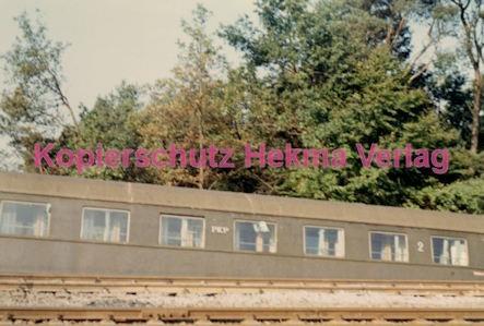 Hauptstuhl Eisenbahn - Zugunglück durch Sabotage - Polnischer Wagen