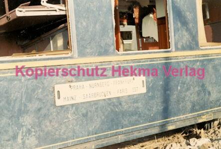 Hauptstuhl Eisenbahn - Zugunglück durch Sabotage - Wagen