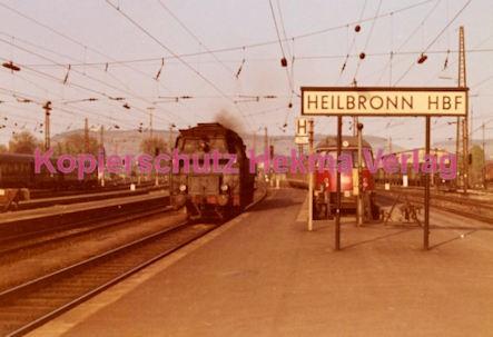 Heilbronn Eisenbahn - Bahnhof Heilbronn - Lok