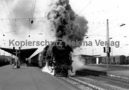 Heilbronn Eisenbahn - Bahnhof Heilbronn - Lok 023 059-9 - Bild 2