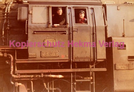 Heilbronn Eisenbahn - Bahnhof Heilbronn - Lok 023 059 - Bild 2