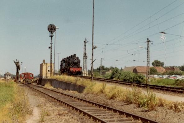 Kaiserslautern Eisenbahn - Verschiebebahnhof Einsiedlerhof - Lok 94 1086 - Bild 4