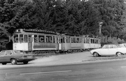 Karlsruhe Straßenbahn - Marxzell Museum - Wagen