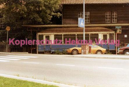 Karlsruhe Straßenbahn - Marxzell Museum - Letzter Wagen Pforzheimer Straßenbahn