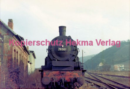 Konz Eisenbahn - Eisenbahnfriedhof - Lok 78 307 - Bild 1