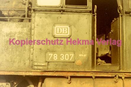 Konz Eisenbahn - Eisenbahnfriedhof - Lok 78 307 - Bild 2