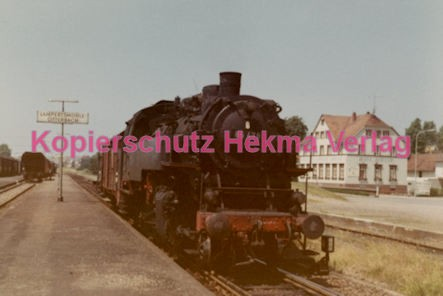 Lampertsmühle-Otterbach Eisenbahn - Bahnhof - Lok 86 478 - Bild 1