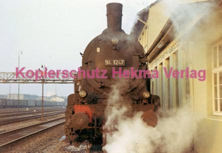 Landau/Pfalz Eisenbahn - Bahnbetriebswerk Landau - Lok 94 1247 - Bild 2
